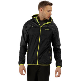 Regatta Levin II Jacket Men Black/Black Reflective